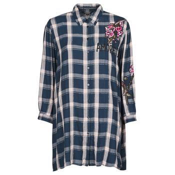 Abbigliamento Donna Tuniche Desigual JACARANDA Blu