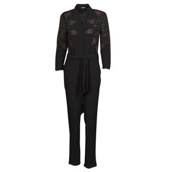 Abbigliamento Donna Tuta jumpsuit / Salopette Desigual NIAGARA Nero