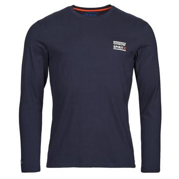 Abbigliamento Uomo T-shirts a maniche lunghe Oxbow N2TORJOK Marine
