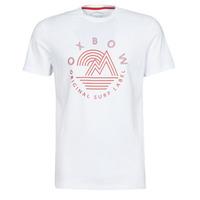 Abbigliamento Uomo T-shirt maniche corte Oxbow N2TOMSK Bianco