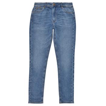 Abbigliamento Bambina Jeans skynny Pepe jeans PIXLETTE HIGH Blu