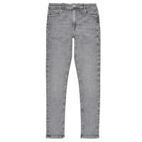 Abbigliamento Bambina Jeans skynny Pepe jeans PIXLETTE HIGH Grigio