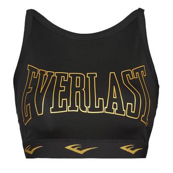 Abbigliamento Donna Reggiseno sportivo Everlast DURAN Nero / Oro