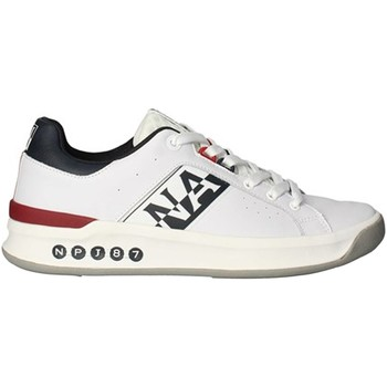 Scarpe Uomo Sneakers basse Napapijri Shoes np0a4fk9 Basse Uomo Bianco Bianco