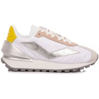 Scarpe Donna Sneakers basse Voile Blanche Sneakers Donna Qwark Spur Bianco-Argento bianco, argento