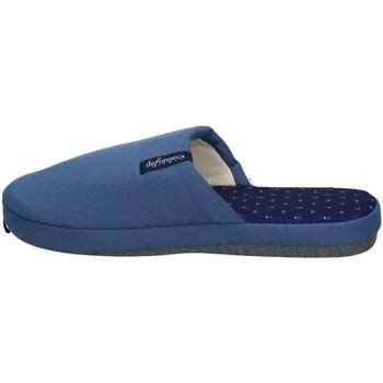 Scarpe Uomo Pantofole De Fonseca ROMA TOP E M711 BLU E AZZURRO