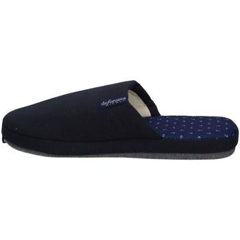 Scarpe Uomo Pantofole De Fonseca ROMA TOP E M711 BLU NOTTE