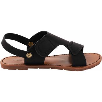 Scarpe Donna Sandali Chattawak sandales June noir Nero