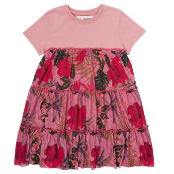 Abbigliamento Bambina Abiti corti Desigual ZAFIRO Rosa
