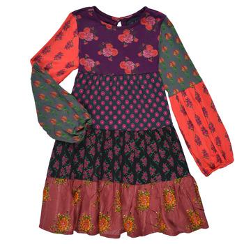 Abbigliamento Bambina Abiti corti Desigual CELIA Multicolore