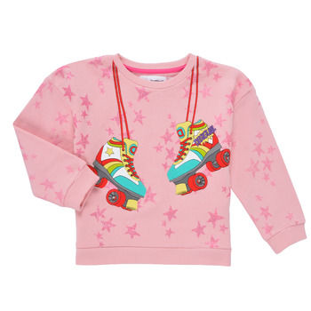 Abbigliamento Bambina Felpe Desigual MARGARA Rosa