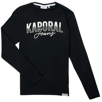 Abbigliamento Bambino T-shirts a maniche lunghe Kaporal JODLE Nero