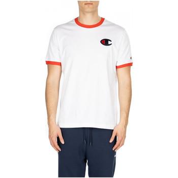 Abbigliamento Uomo T-shirt maniche corte Champion CREWNECK T-SHIRT ww001-wht-fls