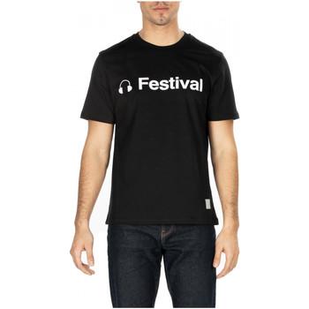 Abbigliamento Uomo T-shirt maniche corte Department Five T-SHIRT GARS cc999-nero