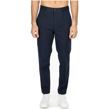 Abbigliamento Uomo Chino Department Five GEORGE PANTALONE CHINOS MORBIDO cc817-blue-black