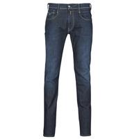 Abbigliamento Uomo Jeans slim Replay ANBASS Blu / Scuro