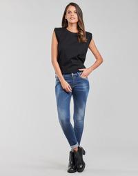 Abbigliamento Donna Jeans skynny Replay LUZIEN Blu / Scuro