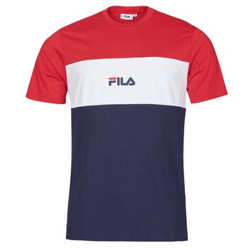 Abbigliamento Uomo T-shirt maniche corte Fila ANOKI Rosso / Marine / Bianco