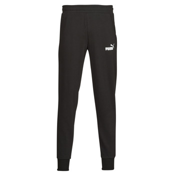 Abbigliamento Uomo Pantaloni da tuta Puma ESS LOGO PANTS FL CL Nero