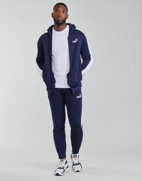 Abbigliamento Uomo Tuta Puma SWEAT SUIT Nero / Bianco