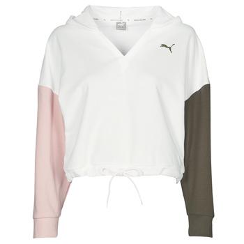 Abbigliamento Donna Felpe Puma MODERN SPORT HOODIE Bianco / Multicolore