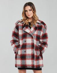 Abbigliamento Donna Cappotti Kaporal FEO Beige / Rosso