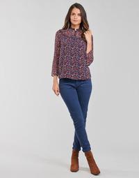 Abbigliamento Donna Pantaloni 5 tasche One Step FT22021 Marine