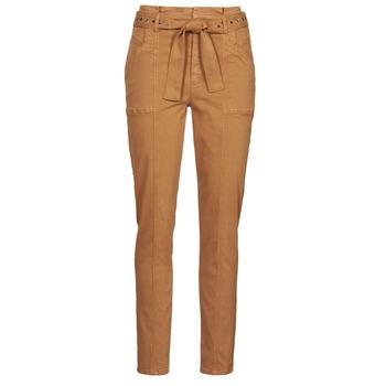 Abbigliamento Donna Pantaloni 5 tasche One Step FT22111 Beige