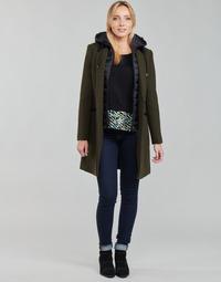 Abbigliamento Donna Cappotti One Step FT44111 Kaki
