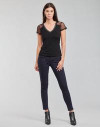 Abbigliamento Donna Pantaloni 5 tasche Morgan PETRA Marine