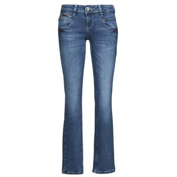 Abbigliamento Donna Jeans dritti Freeman T.Porter ALEXA STRAIGHT SDM Blu / Scuro