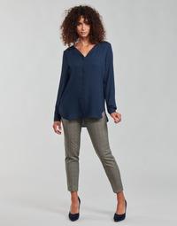 Abbigliamento Donna Pantaloni 5 tasche Freeman T.Porter CLAUDIA PONGO Grigio