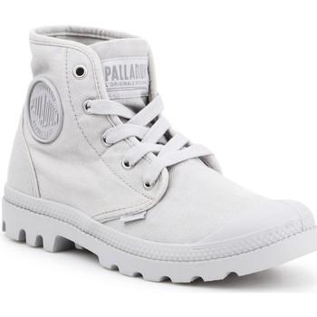 Scarpe Donna Sneakers alte Palladium Manufacture US PAMPA HI F Vapor 92352-074-M grey