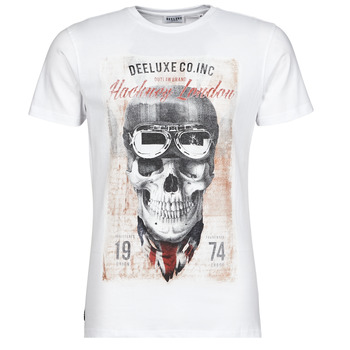 Abbigliamento Uomo T-shirt maniche corte Deeluxe CLEM Bianco