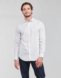 Abbigliamento Uomo Camicie maniche lunghe Emporio Armani 8N1C09 Bianco