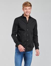 Abbigliamento Uomo Camicie maniche lunghe Emporio Armani 8N1C09 Nero