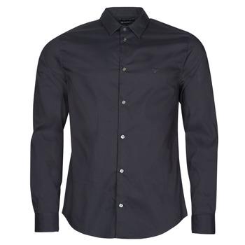 Abbigliamento Uomo Camicie maniche lunghe Emporio Armani 8N1C09 Marine
