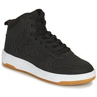 Scarpe Bambino Sneakers alte Kappa SEATTLE MID Nero