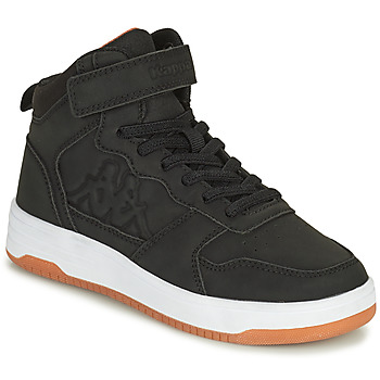 Scarpe Bambino Sneakers alte Kappa SEATTLE MID EV Nero