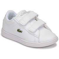 Scarpe Unisex bambino Sneakers basse Lacoste CARNABY EVO BL 21 1 SUI Bianco