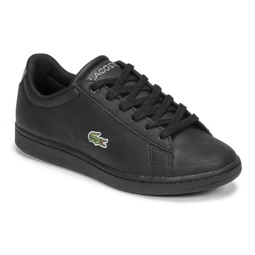 Scarpe Unisex bambino Sneakers basse Lacoste CARNABY EVO BL 21 1 SUJ Nero
