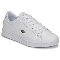 Scarpe Unisex bambino Sneakers basse Lacoste CARNABY EVO BL 21 1 SUJ Bianco