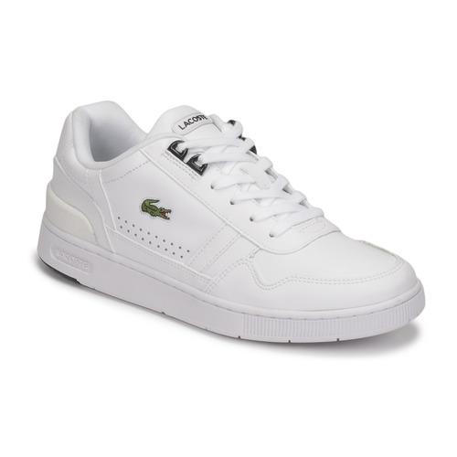 Scarpe Donna Sneakers basse Lacoste T-CLIP 0121 2 SFA Bianco