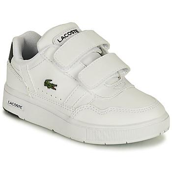 Scarpe Unisex bambino Sneakers basse Lacoste T-CLIP 0121 1 SUI Bianco