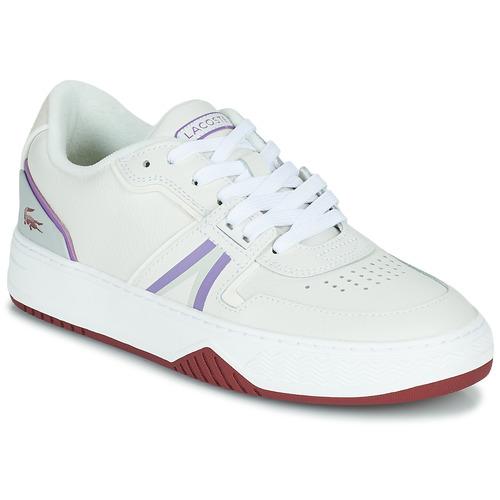 Scarpe Donna Sneakers basse Lacoste L001 0321 1 SFA Bianco / Viola