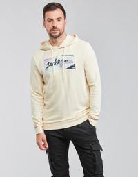 Abbigliamento Uomo Felpe Jack & Jones JORLOGON Beige