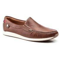 Scarpe Uomo Mocassini Iberico Shoes  Marron