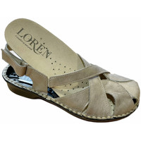 Scarpe Donna Sandali Calzaturificio Loren LOM2867tor tortora