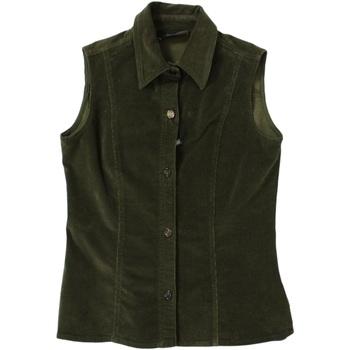 Abbigliamento Donna Gilet / Cardigan Diana Gallesi ATRMPN-26043 Verde