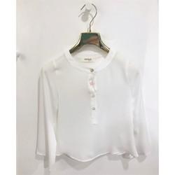 Abbigliamento Bambina Camicie Vicolo 3141C0496 Camicie Bambina PANNA PANNA